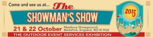 Showman's Show - 21-22 October 2015 Stand #243, Newbury Showground