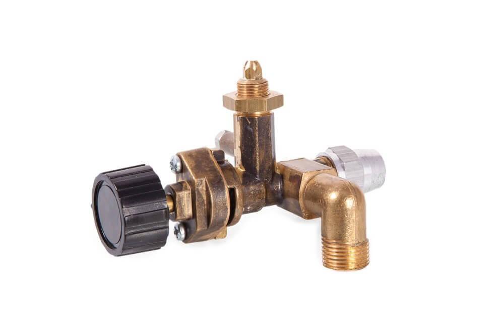 Control/Elbow, c/w Knob & Injector