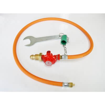 Fixed Regulator/Hose Assembly c/w Spanner