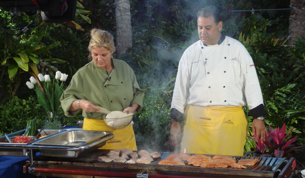 Cinders Barbecue Demonstration